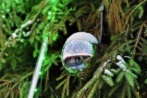 Shining Christmas ball