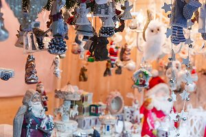 Xmas decorations and toys