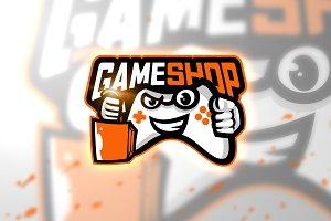 Game shop - Mascot & Esport Logo