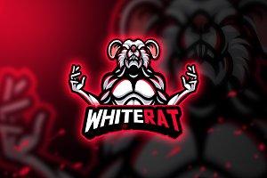 WhiteRat - Mascot & Esport Logo