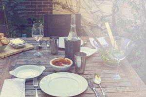 Summertime dinner