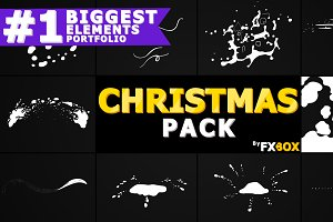 Christmas Elements Motion Graphics