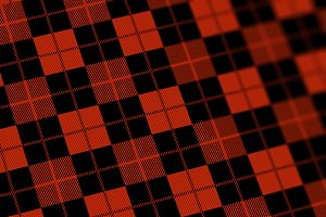Red Flannel Seamless Pattern Texture