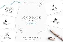 Logo Pack Volume 8. Farm