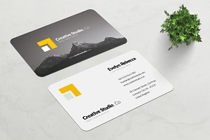 Minimalist Business Card Vol. 01