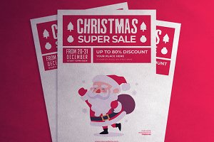 Christmas Super Sale flyer