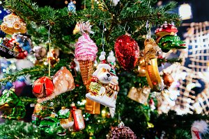Glass Christmas Decoration