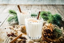Classic Christmas drink Eggnog by  in Food & Drink