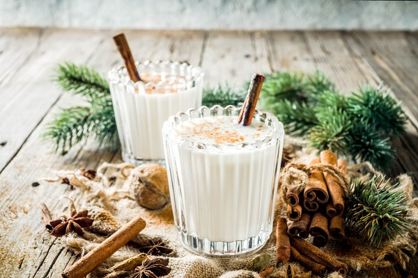 Stock Photos: Rimma - Classic Christmas drink Eggnog