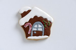 Christmas GingerBread Cookie - House
