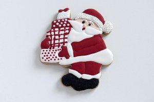 Christmas GingerBread Cookie - Santa