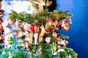Christmas Tree at Christmas Market