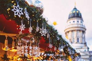 Christmas Market in Gendarmenmarkt