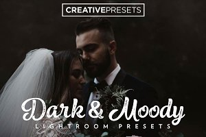 +75 DARK AND MOODY LIGHTROOM PRESETS