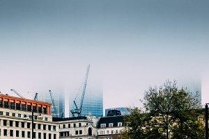 London Fog in City
