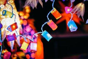 Decoration on Christmas Market