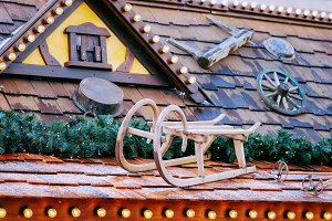 Decoration at Christmas Market