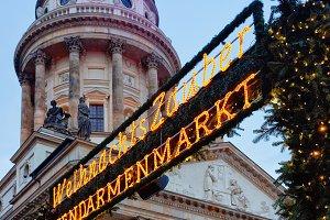 Christmas Market of Gendarmenmarkt