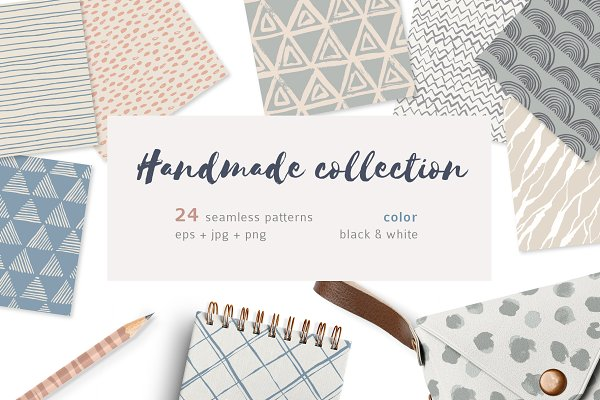 Graphic Patterns - Handmade patterns