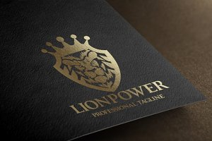 Lion Power Logo