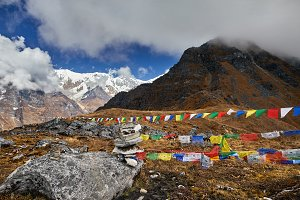 Landscape of Great Himalayas