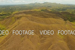 Mountain landscape with valley Bohol