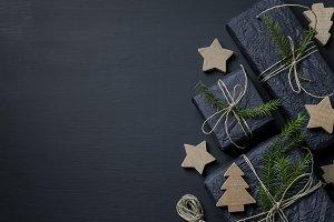 Dark Christmas Background I
