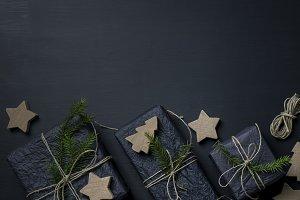 Dark Christmas Background II