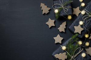 Dark Christmas Background III