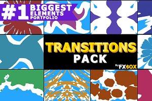 Liquid Transitions Motion Graphics