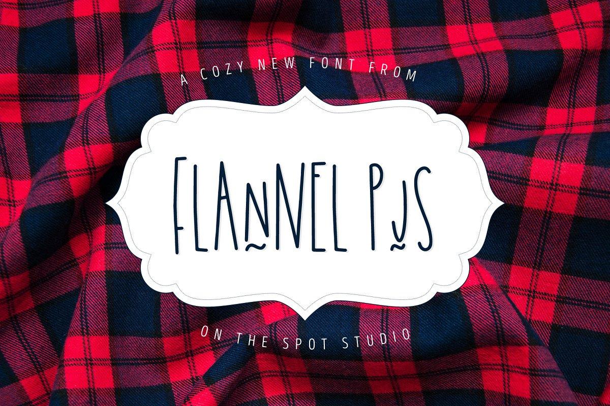Flannel PJs