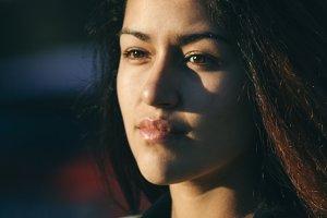 Portrait of a beautiful latin woman
