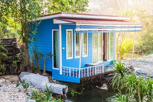 Resort bungalow in Thailand