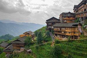 Tian Tou Zhai village, Guangxi.China