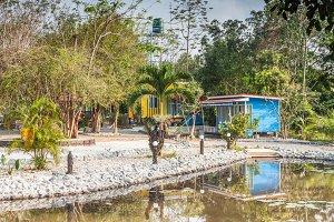Tropical resort bungalow