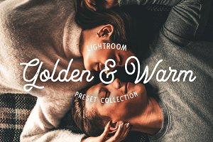 Golden and Warm Lightroom Presets