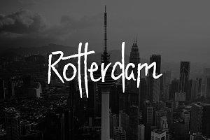 Rotterdam - Handwritten Display Font