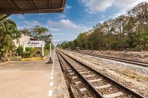 Huai Yod train station,Thailand