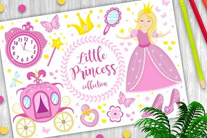Little Princess cute pink set