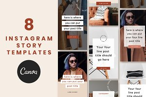Instagram Story Templates: Thrive