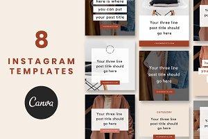 Instagram Post Templates: Thrive