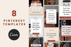 Pinterest Templates: Thrive