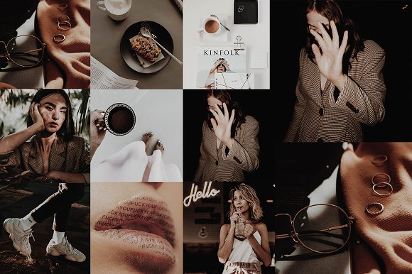 MALE BLOGGER LR MOBILE PRESETS by KIIN on creativemarket