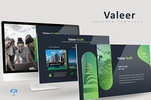 Valeer - Keynote Template