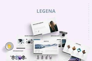 Legena - Google Slides Template