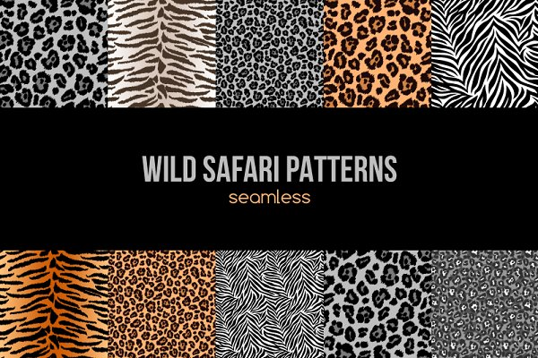 9 Wild Patterns