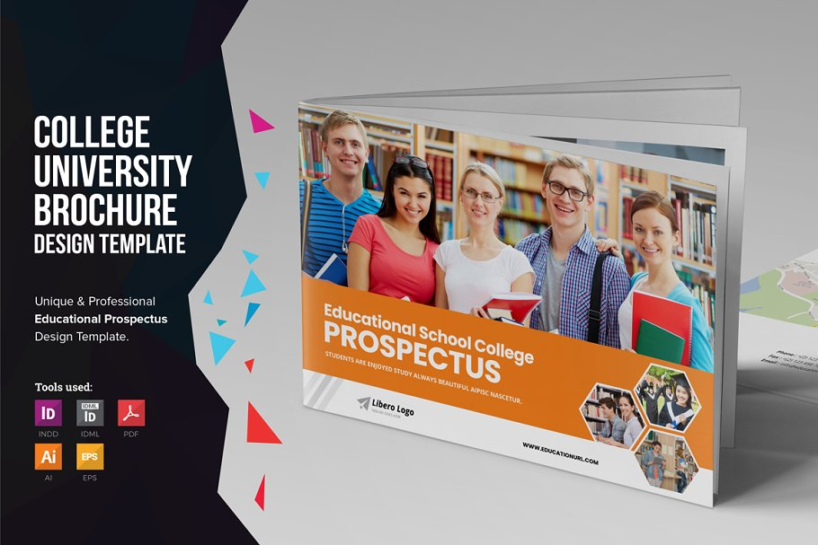 college prospectus design template.html