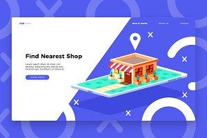 Phone Shop - Banner & Landing Page