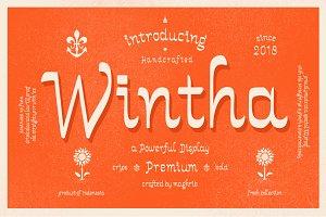 Wintha Typeface