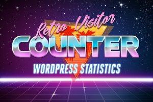 Retro Visitor Counter For WordPress